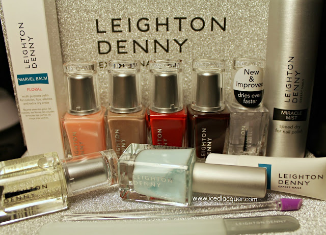 Leighton Denny press sample box