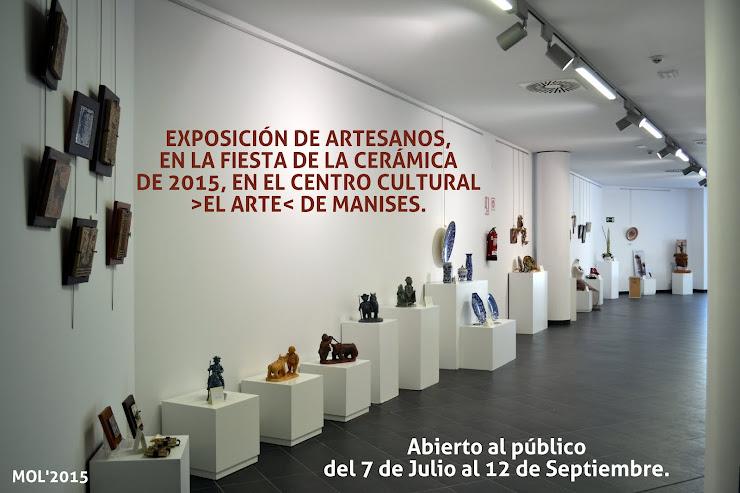 EXPOSICIÓN DE ARTESANOS EN EL CENTRO CULTURAL EL ARTE