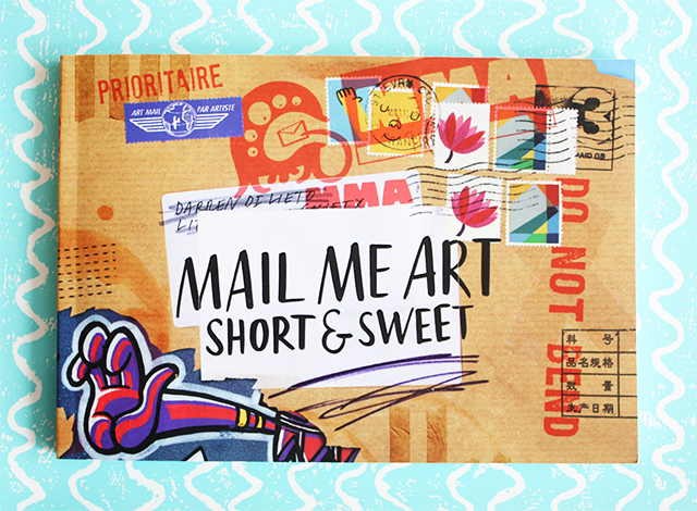 mail me art short and sweet book front cover
