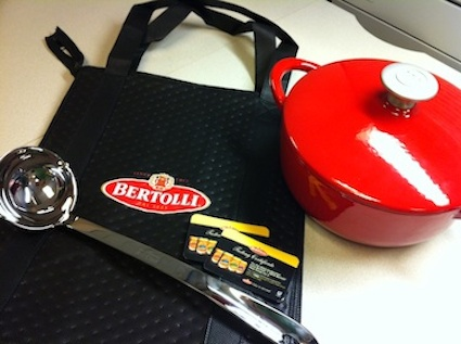 Winner Announced! Bertolli Gift Pack