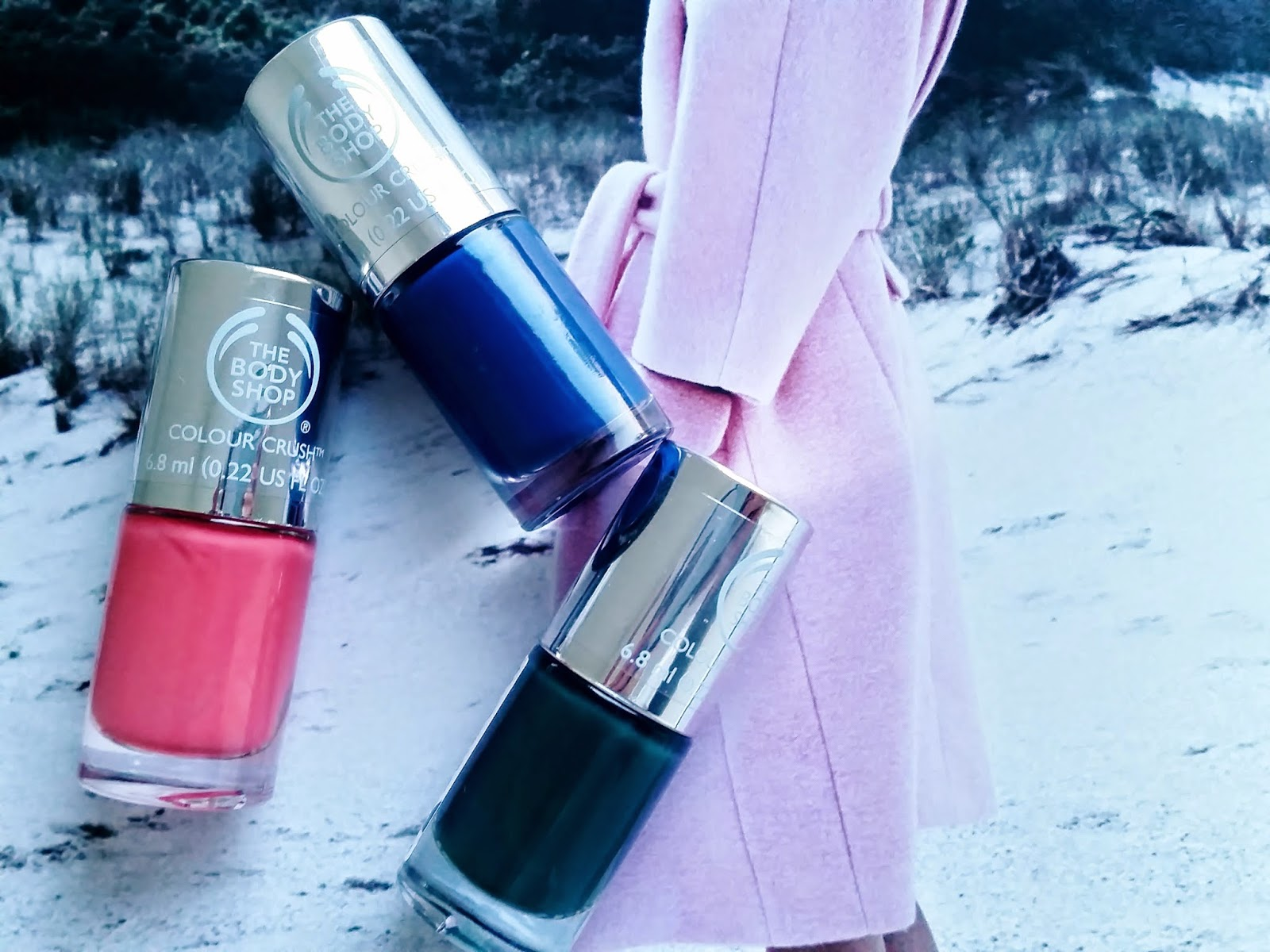 The Body Shop Color Crush Nail Polishes
