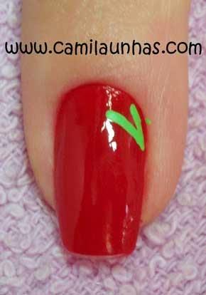 Uñas decoradas de frutas , decorados de uñas
