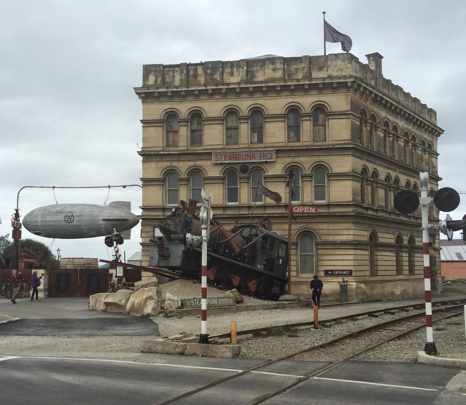 Oamaru New Zealand  city photos : ... Gail Carriger: The Kiwi Files: Steampunk HQ in Oamaru, New Zealand