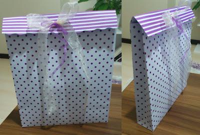 kartondan kağıt çanta yapımı