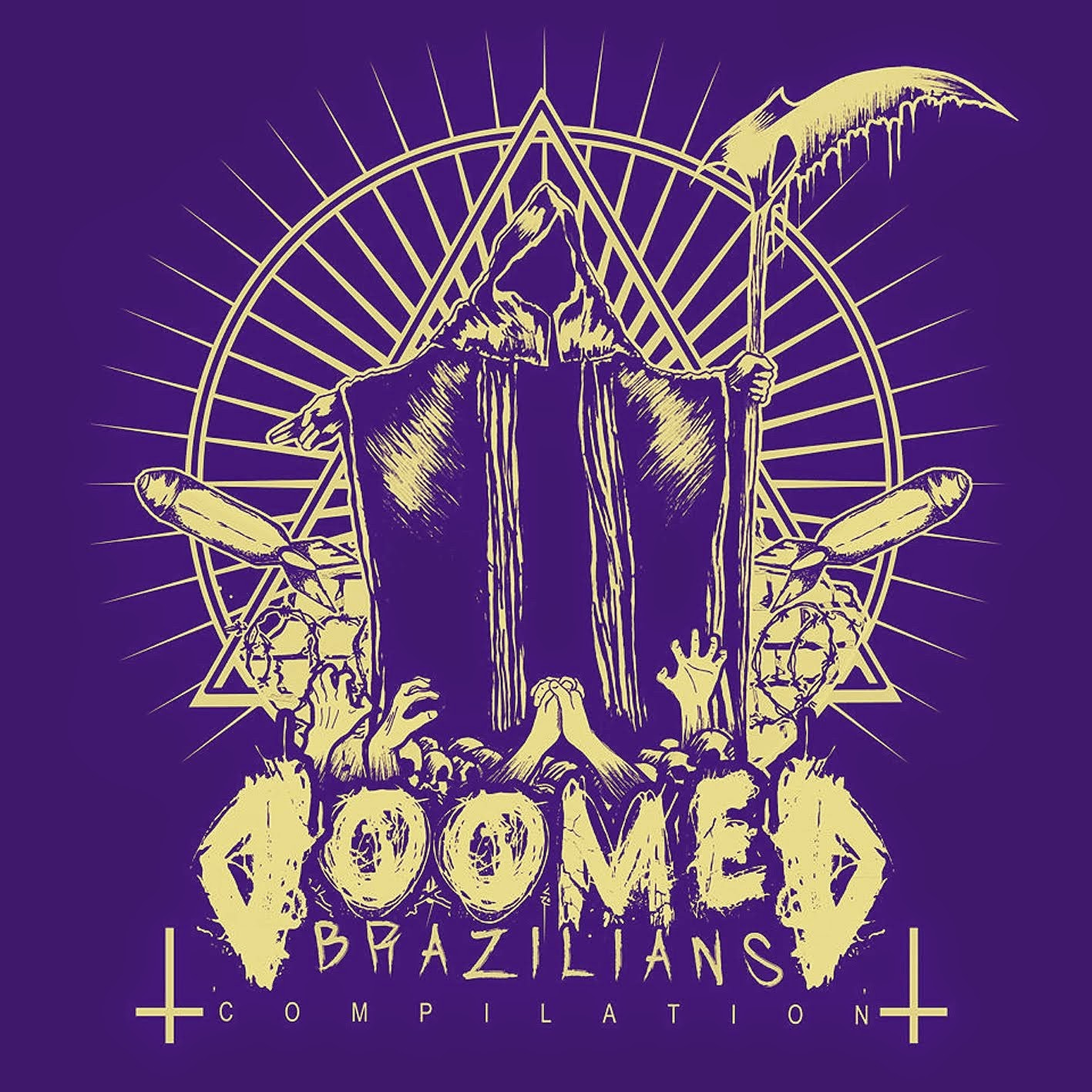 Doomed Brazilians Compilation (cliquem na capa e façam o download)