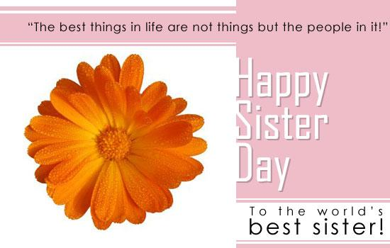 sisters day 8 - :)