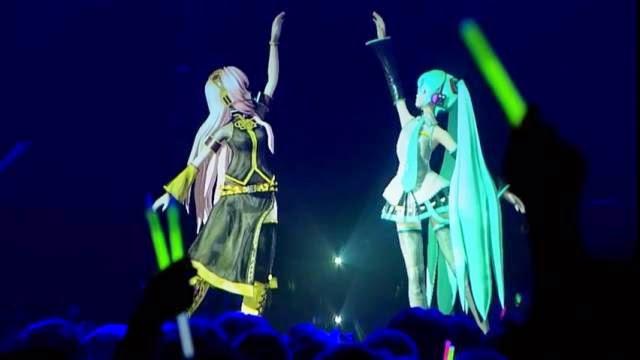 Hatsune Miku et Megurine Luka - Magnet Live à Tokyo, concert holographique