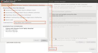 Update Ubuntu 2Mb/s di Kampus