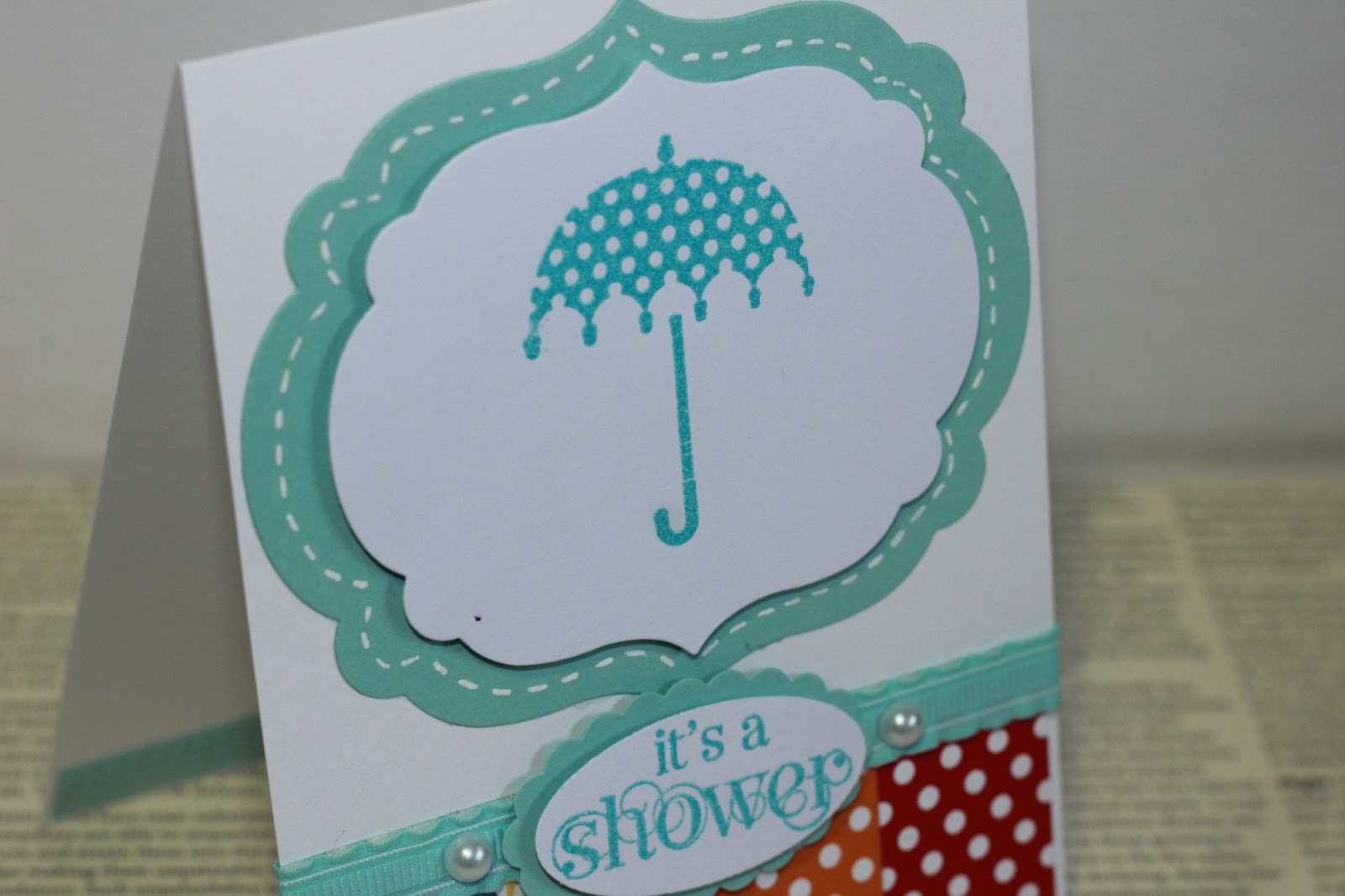 show me the love baby shower card non traditional colours