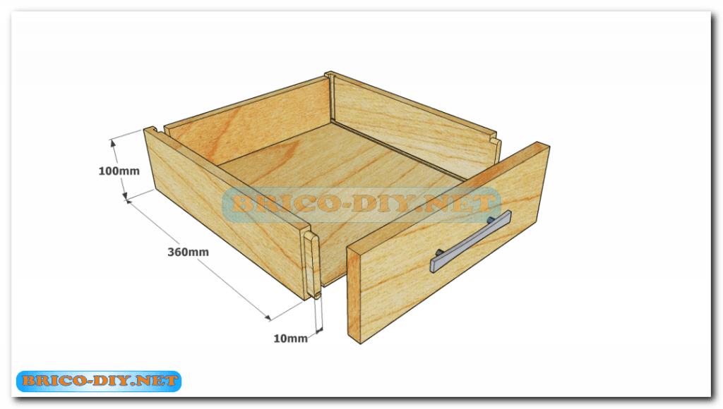 Plano para la construcci n de mesa de centro madera en la for Bricolaje madera planos