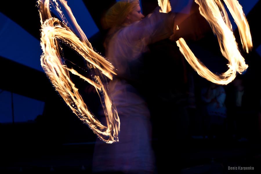 Фаершоу в Лошицком парке Минска на Купалье /  6 июля 2011г. /  Минск, Беларусь