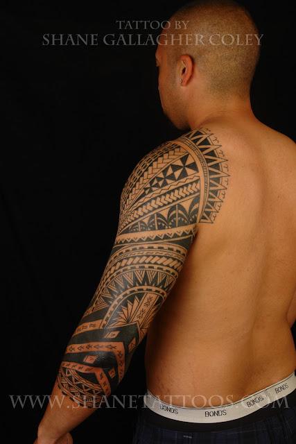shane tattoos tongan influenced polynesian fusion sleeve on james. Black Bedroom Furniture Sets. Home Design Ideas
