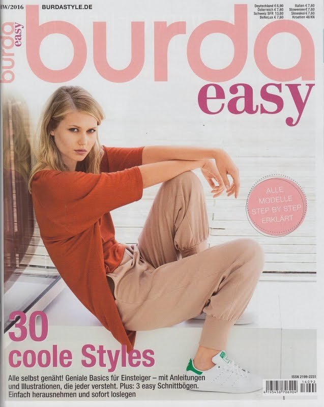 ΝΕΟ ΤΕΥΧΟΣ BURDA EASY AUTUMN WINTER 2016