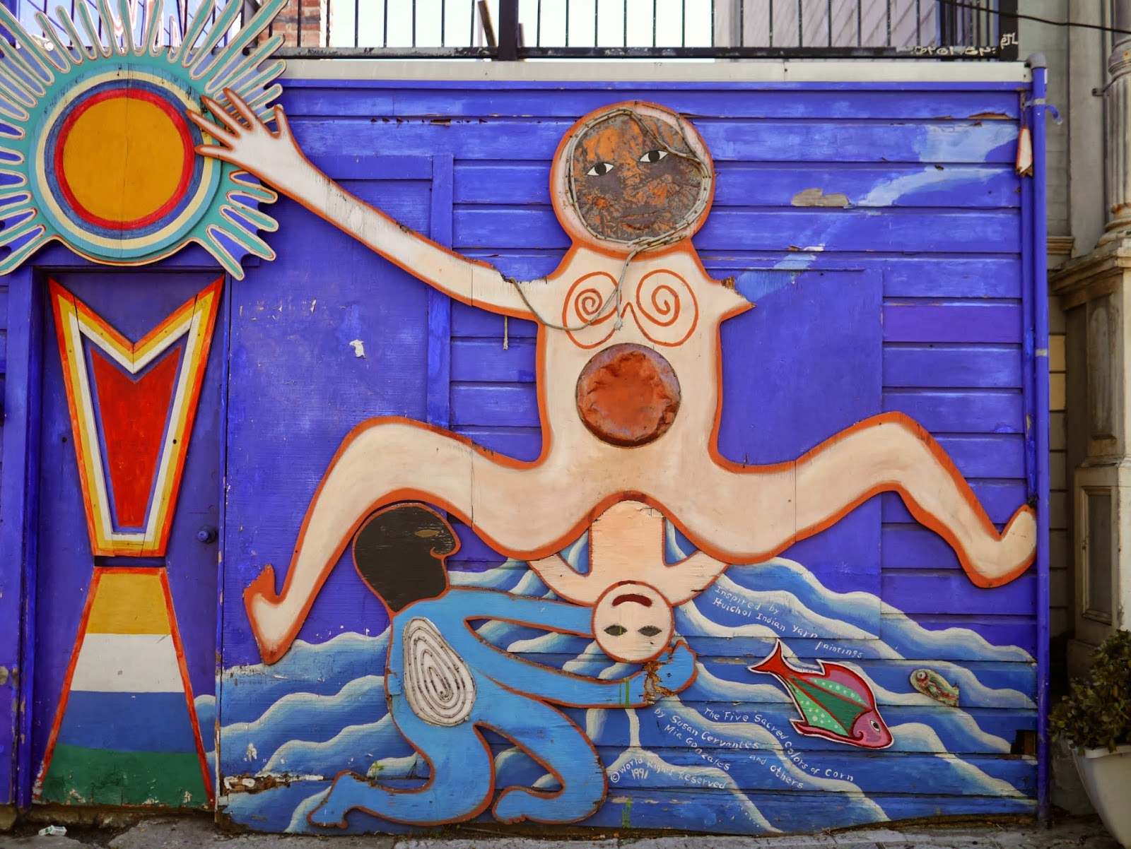 Little hiccups mission murals balmy alley for Mural meaning