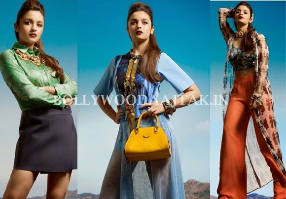 Alia Bhatt Cosmopolitan Magazine February 2014 Photoshoot