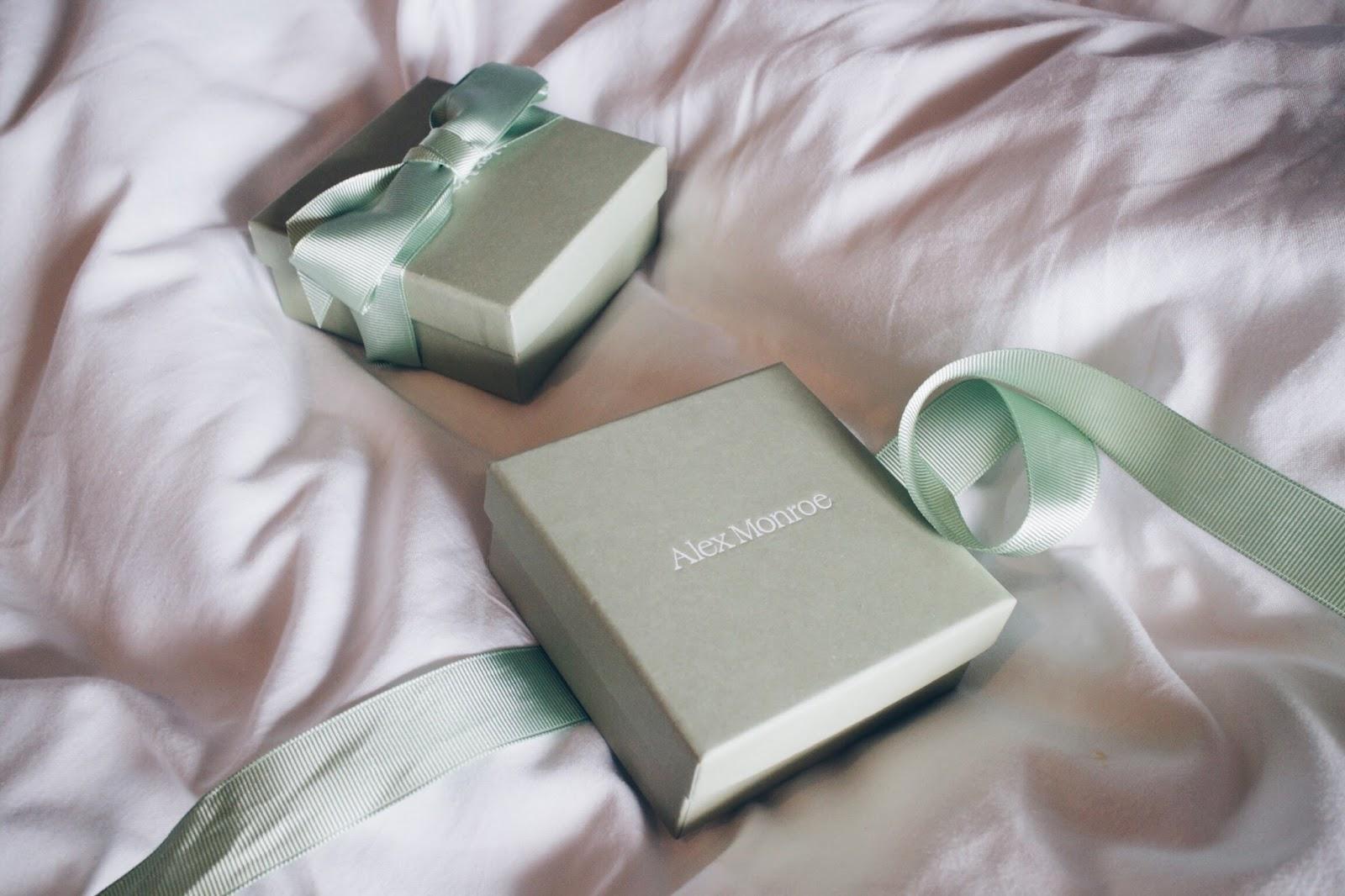 alex monroe gift box