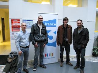 Daonet et Youen Chap à France 3 Breizh