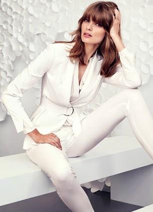 H&M look para festa blazer com cinto e calça