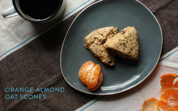 Adrienneats: Orange-almond oat scones