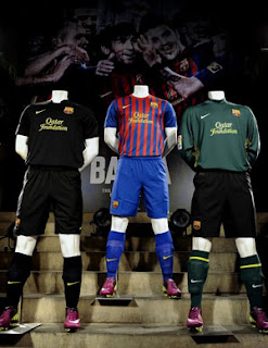 Barcelona new kits