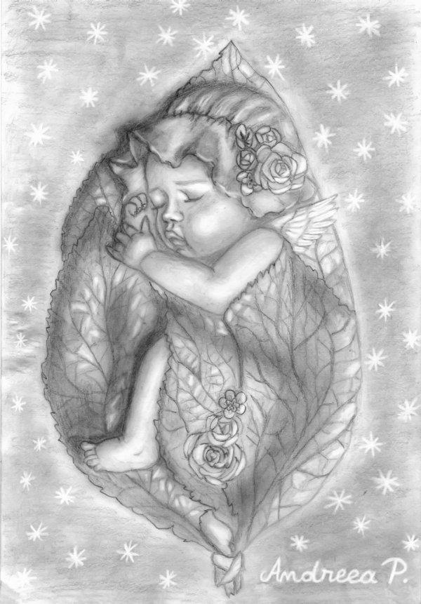 Angelito Durmiendo Imagen para Facebook
