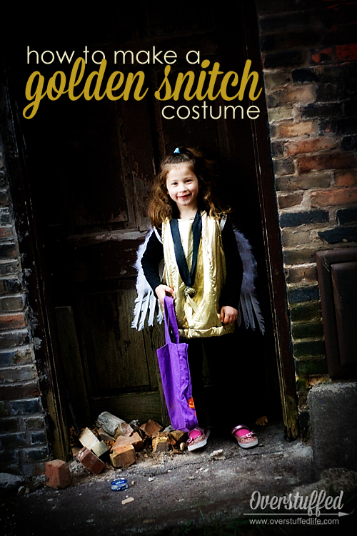 Golden Snitch Halloween Costume