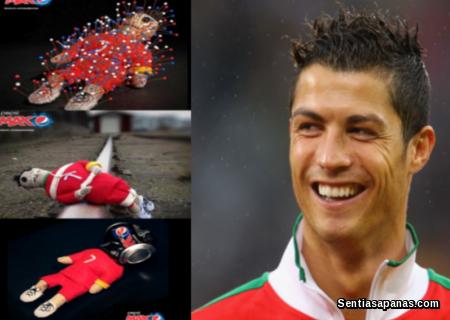 Ronaldo and Pepsi