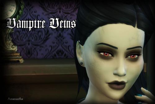 My Sims 4 Blog: Vampire Veins Skin by Ameranthe