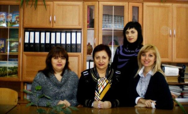 Кафедра вчителів англійської мови
