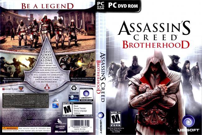 Assassins Creed Brotherhood PC Full 2011 assassins creed brotherhood game XANDAO DOWNLOAD