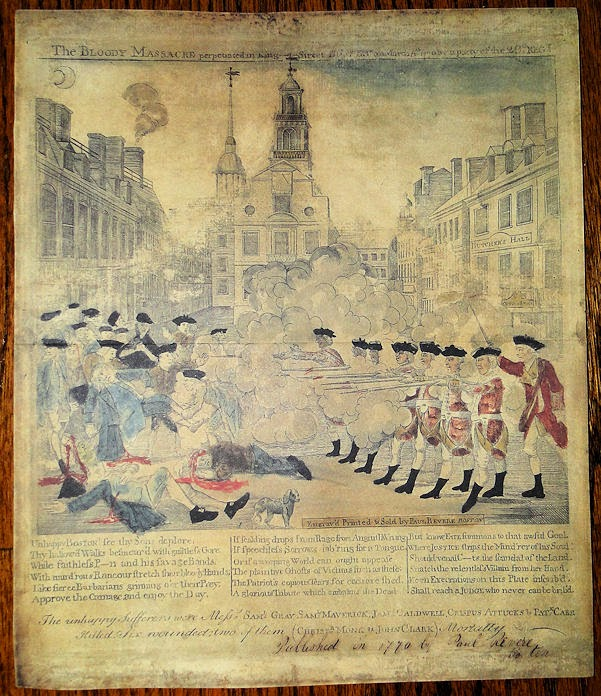 a history of the boston massacre from march 1770 Watch video on the cold, snowy night of march 5, 1770, a mob of american colonists gathers at the customs house in boston and begins taunting the british soldiers guarding the building on the cold, snowy night of march 5, 1770, a mob of american colonists gathers at the customs house in boston and begins taunting the british soldiers.