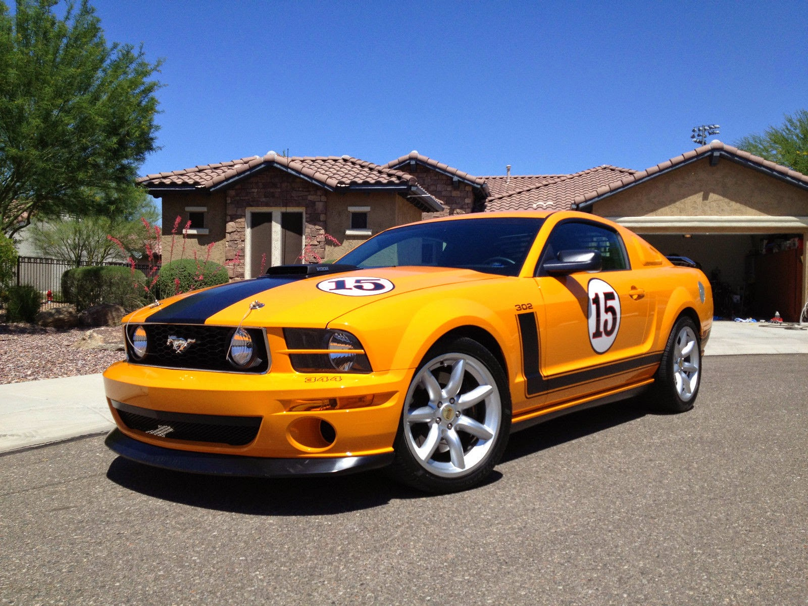 For Sale 2007 500 Limited Edition Parnelli Jones/Steve Saleen Ford Mustang Boss 302