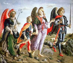 Archangel Michael, Gabriel and Rafael