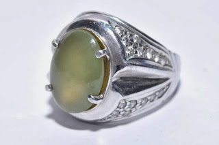 ARTS SHOP INDONESIA Gemstone Silver Ring For Men