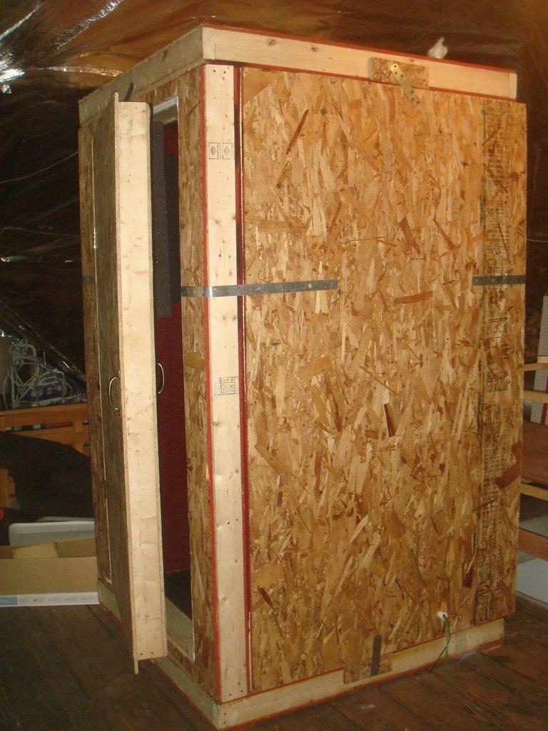 Musicalwars construcci n de una cabina de aislamiento - Aislantes acusticos caseros ...