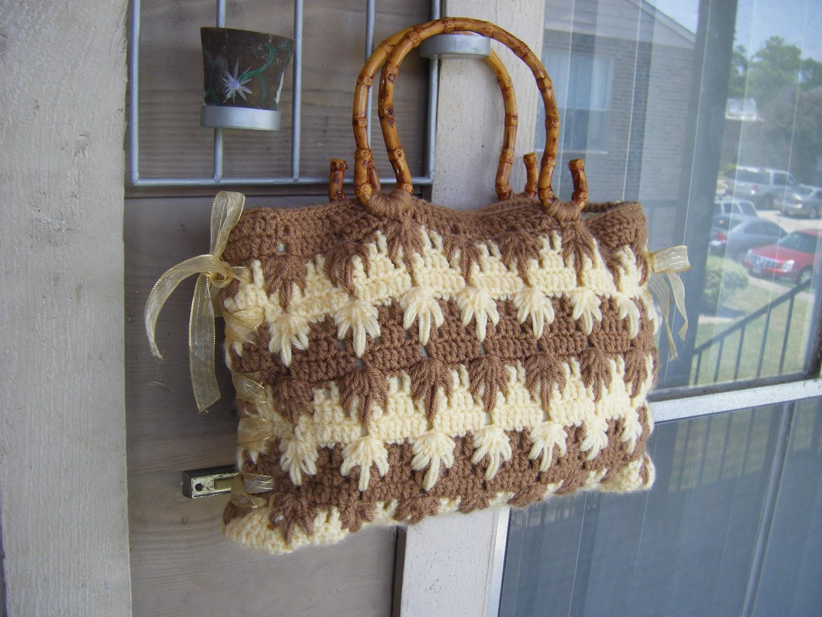 Crochet Pattern Tote Bag : Best Patterns: Raquel Crochet Tote Bag Pattern
