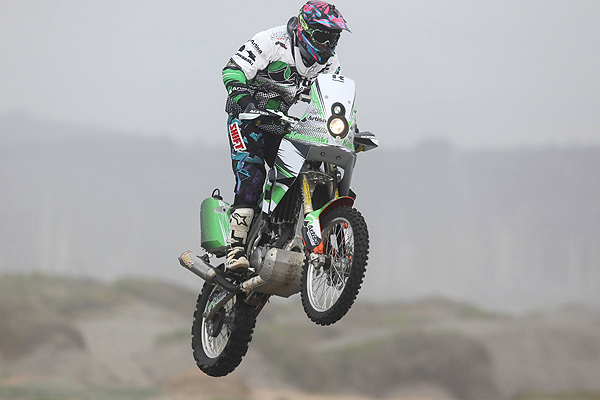 ... era hora de cambiar y tomó la decisión de girar hacia el Dakar 2013