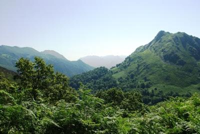 Ascensión al Mofrechu, vistas