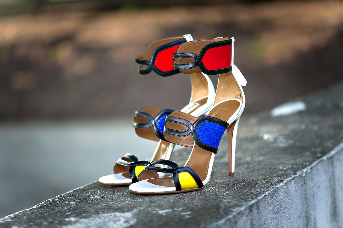 Aquazzura its gorgeous ankle strap sandal
