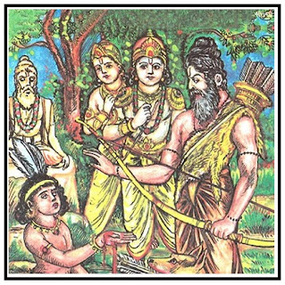 Dronacharya and Ekalavya