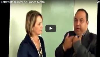Vídeo espetacular | A surreal entrevista da prefeita em 2012