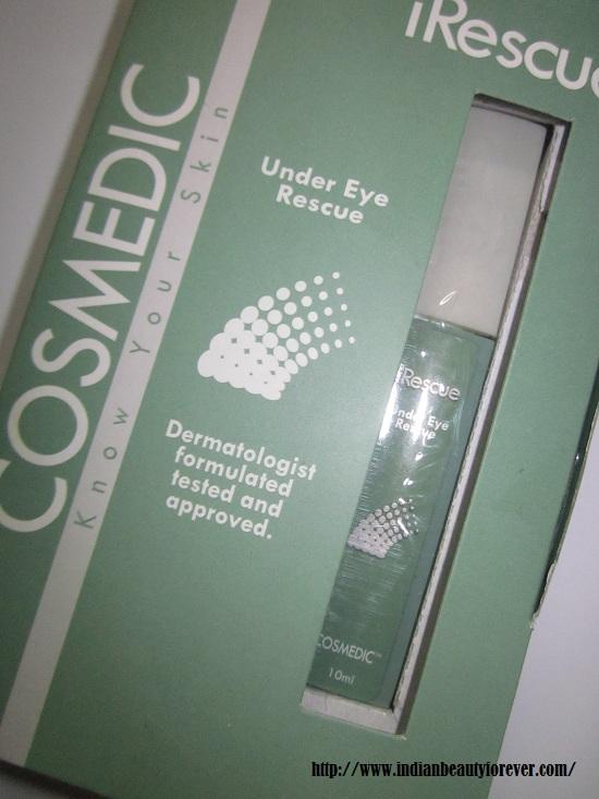 cosmedic under eye solution