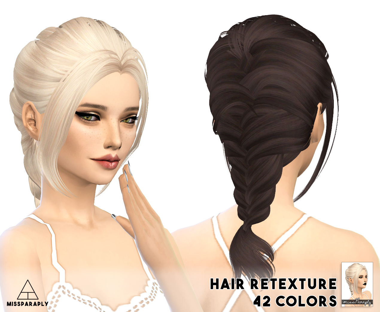 My Sims 4 Blog Alesso And Skysims Hair Retexture By