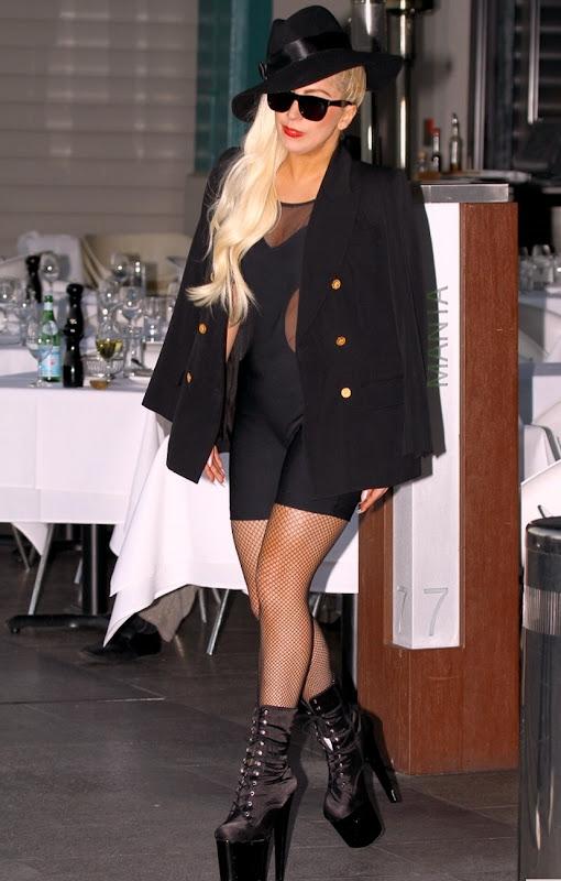 Lady GaGa dressed to impress