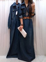 Gamis Jeans SOLD OUT
