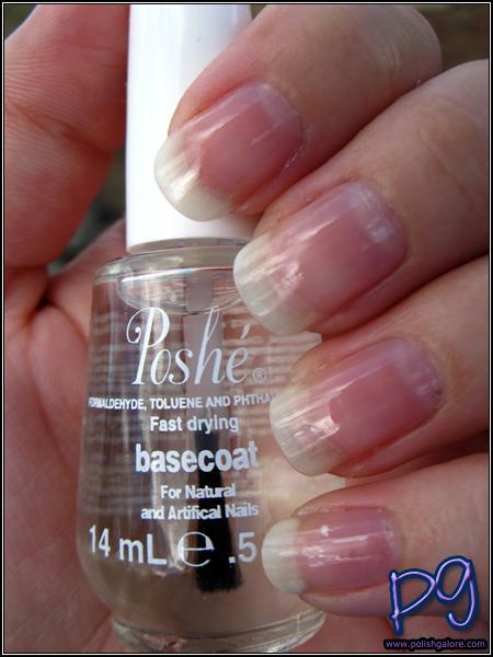Poshe Nails Fast Drying Base Coat - Polish Galore
