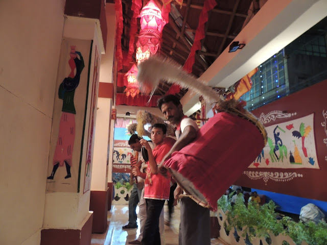 Dhak instrument