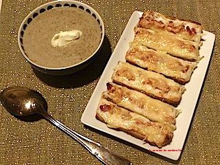 douce crème de champignons-bonne recette-recette pas chère-Marderelle