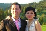 Minodora cu sotul sau , Marius Rezeanu din Tuzla , la Lodi (Italia)....