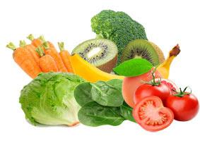 buah dan sayur sehat